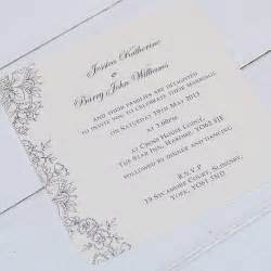 wedding invitiations vintage lace wedding invitations by beautiful day notonthehighstreet