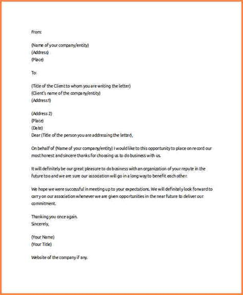 thank you letter to future in amazing thank you letter for future business partner with