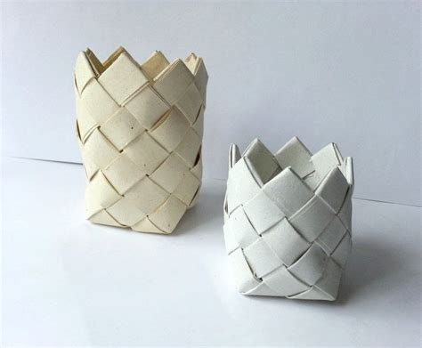 Make A Bowl Out Of Paper - diy paper basket 183 how to make a paper bowl 183 papercraft