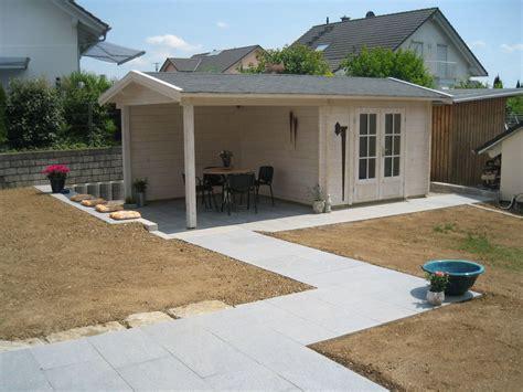 Gartenlaube Mit Terrasse by Gartenhaus Gro 223 E Terrasse My