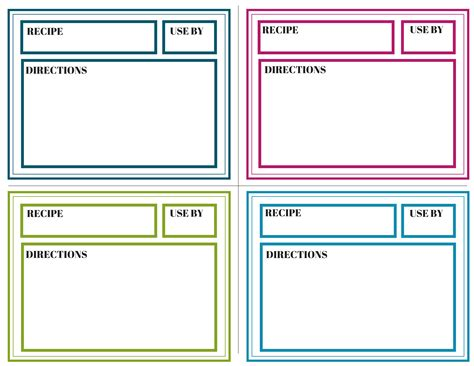 printable freezer labels freezer meal labels weight loss coaching for busy moms
