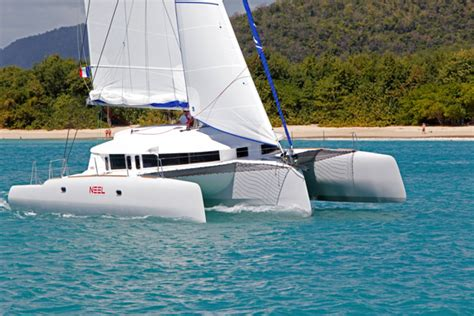 trimaran under sail boats we love neel 45 boats