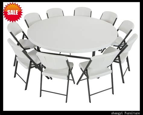 6 foot round table 6ft table and chairs 6ft folding table and 8 chairs ed