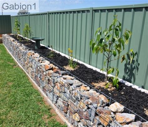 garden wall baskets gabion garden edges gabion1 uk