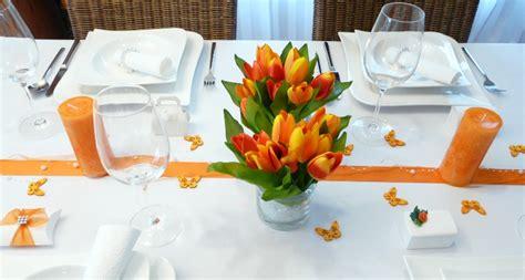 Tischdeko Hochzeit Orange by Mustertische Fr 252 Hling Fr 252 Hlingsdeko Und Tischdekoration