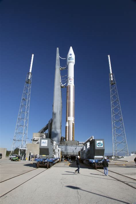 Bor Air Satelit tracking and data relay satellite ready for launch from cape canaveral nasa