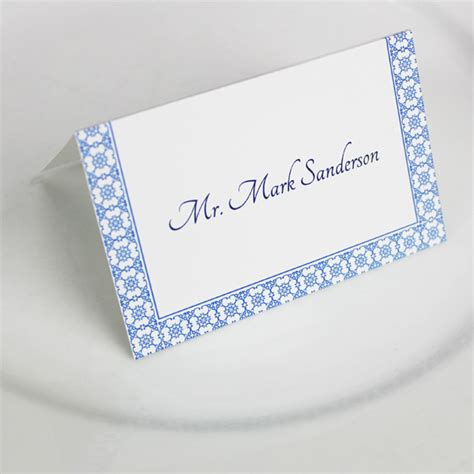 place card printing template printable reception place card template print