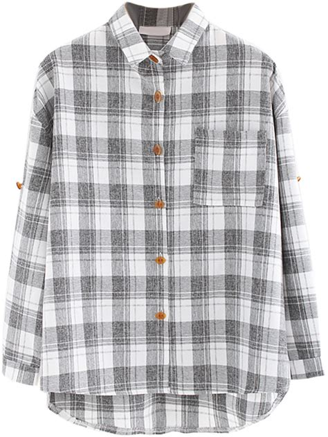 Walker Grey Plaid choies one pocket shirt in light gray plaid check where to buy how to wear