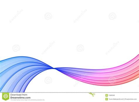 Ribbon Flow gradient ribbon stock illustration image of abstract 1589346