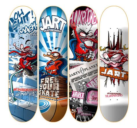 Awesome Skateboard Deck by 30 Cool Vector Illustrated Skateboard Decks Tuts Design