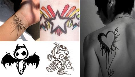 emo tattoo designs tattoos
