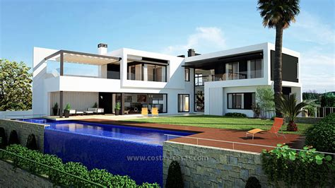 moderne villa moderne villa te koop eerstelijns golf nueva andalucia