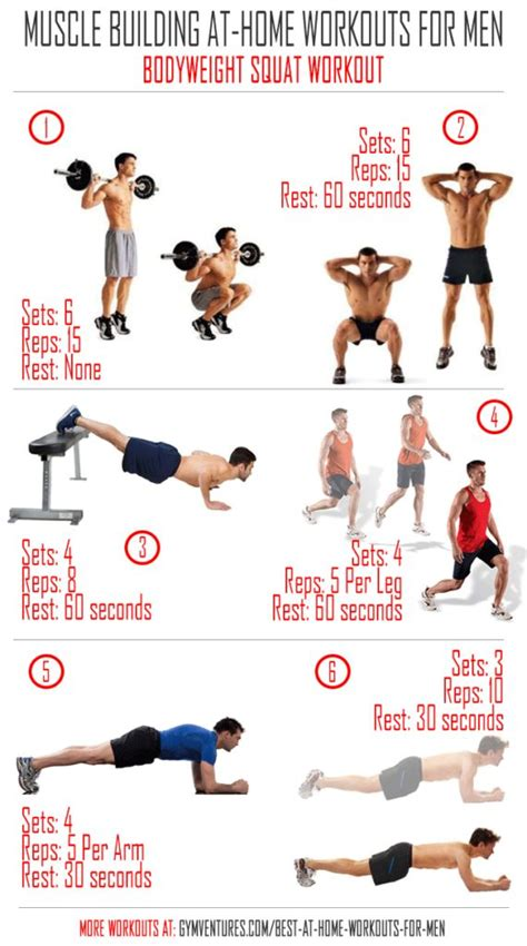home workout plan for men best home workout for men ideas on pinterest