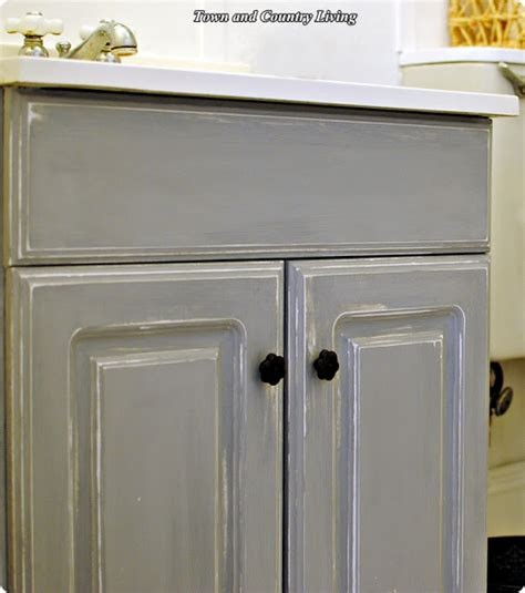 chalk painting bathroom cabinets my bathing beauty town country living