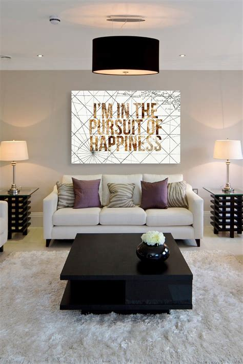 hautelook home decor oliver gal pursuit of happiness canvas wall art on