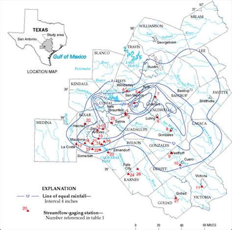texas flooding map nws texas flood information