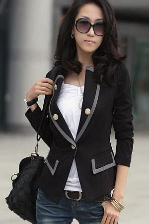 Korean Style Blazer Black New Korean Blazer new style korean blend black cotton blazer blazer suits
