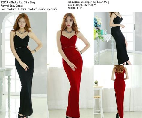 Ethnica Dress Maroon Longdress Merah Marun Baju Wanita jual 22129 baju pesta merah marun maroon slit dress formal s wardrobe