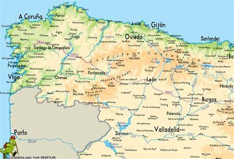 camino trail map gr65 camino de santiago