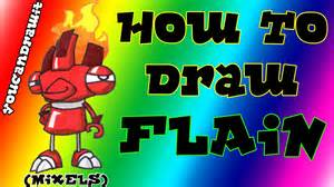 how to draw flain from mixels youcandrawit ツ 1080p hd