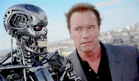 film robot schwarzenegger arnold schwarzenegger hollywood actor the terminator robot