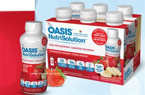 discount voucher oasis oasis nutrisolution coupon