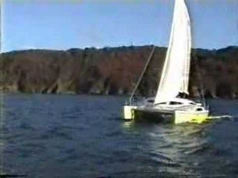 sailing catamaran woods sagitta sailing catamaran by woods designs youtube