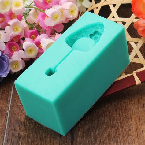 3d silicone high heel mould fondant cake shoe mold