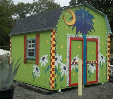 Painted Shed Ideas by Painted Shed At Reeses Plants Outdoor Diy