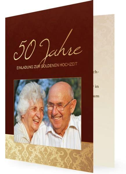 Einladung Goldene Hochzeit Vorlage by Vorlagen F 252 R Einladungen Goldene Hochzeit