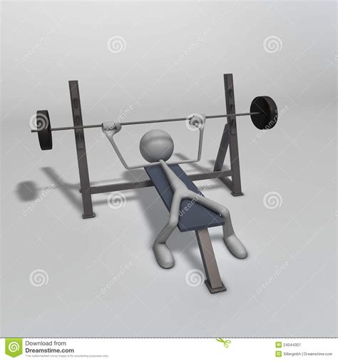 weight bench plans weight bench stock image image 24044301