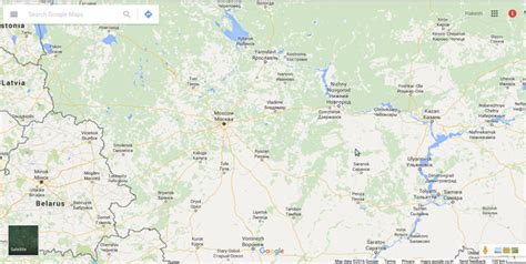 russia google why are russian places not shown in google maps