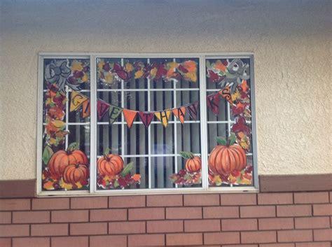Fenster Bemalen Herbst by Fall Windows Window Painting Ideas Window