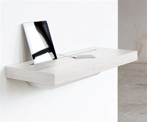 Charging Station Shelf | elegant stage offers a discreet charging shelf for your