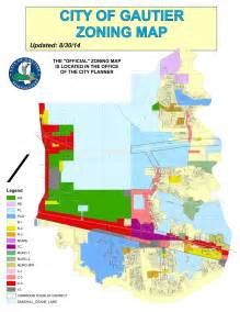 zoning map zoning map city of gautier