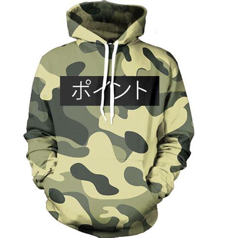 Camo Print Hoodie army camo hoodie all print apparel getonfleek