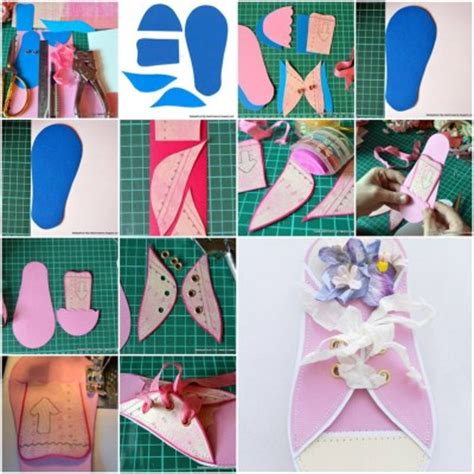 How To Make Paper Cards - how to make paper sneaker card step by step diy tutorial