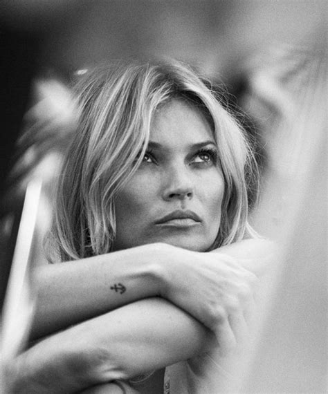 Send Flowers To Kate Moss And Feature In A V Magazine Shoot by Kate Moss Tattoologist