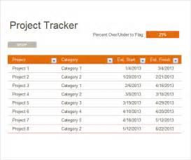 contract tracking template project tracking template 6 free for pdf doc