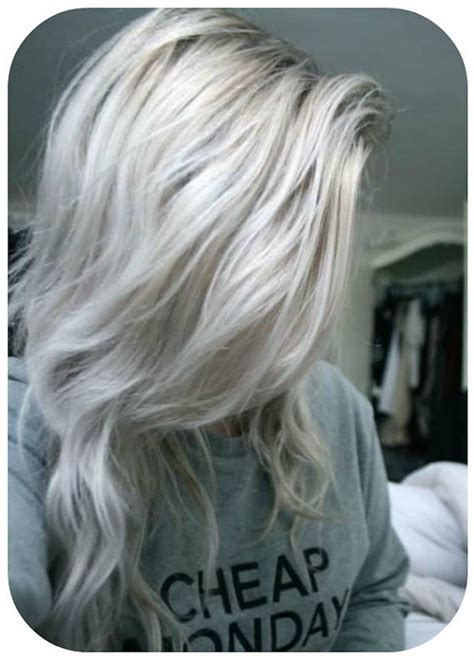 platinum gray ombre hairstyles balayage dip dye 8a remy ombre grey human clip in hair