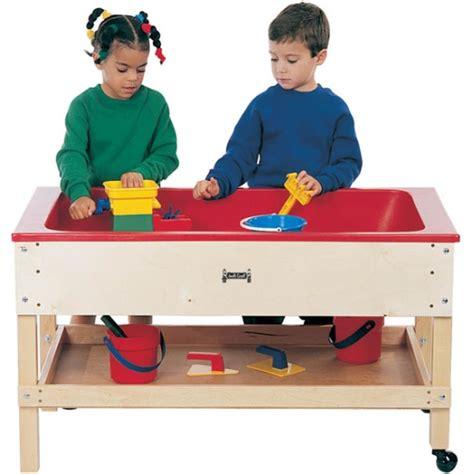 sensory table for toddlers jonti craft toddler height sensory table w shelf 2866jc