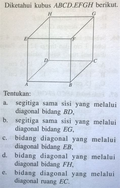 Buku Matematika Diri soal no 1 halaman 44 buku mandiri mengasah kemuan
