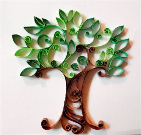 paper quilling tree tutorial tree quilling art gallery pinterest