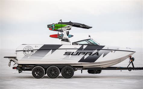 boats with raptor engines supercharged raptor v8 powers ken block s badass boat