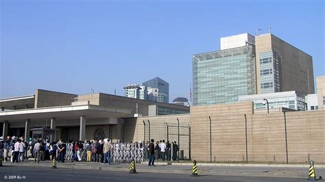 map of us embassy in beijing panoramio photo of us embassy beijing