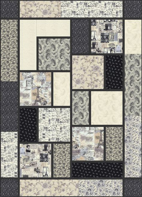 free printable modern quilt patterns big block quilt by black cat creations free pattern