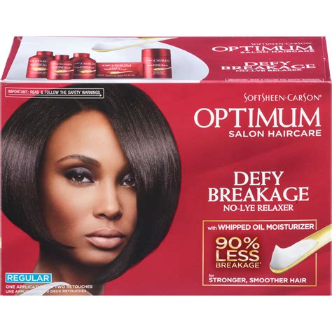 best relaxer for fine hair optimum care for fine to regular hair types salon