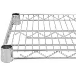 nsf wire shelving regency 18 quot x 60 quot nsf chrome wire shelf