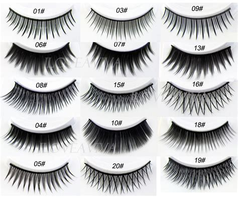 Bulu Mata Palsu Handmade 474g Best Seller new 5 pairs pro fashion black false eyelashes