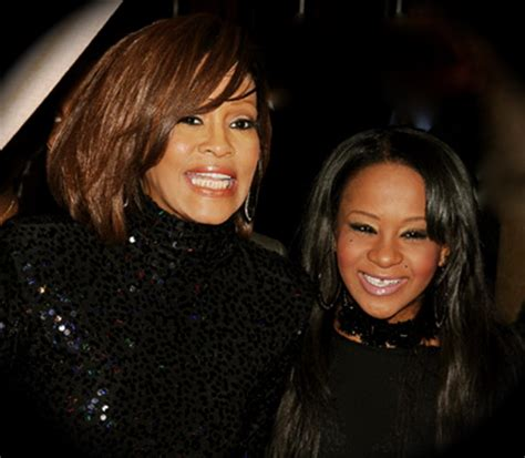 whitney houston and her daughter whitney houston daughter bobbi